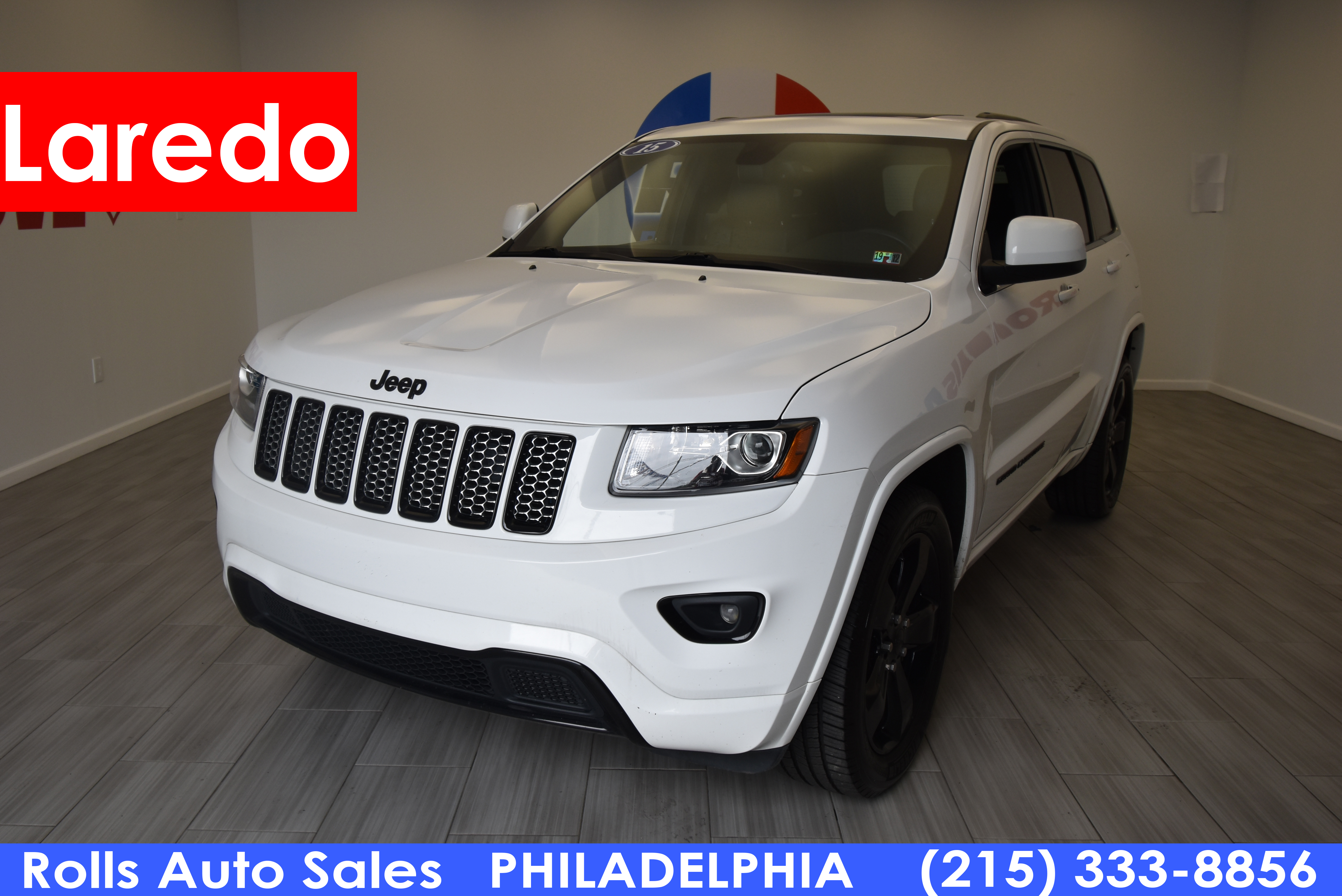 Pre-Owned 2015 Jeep Grand Cherokee Utility 4D Altitude 4WD