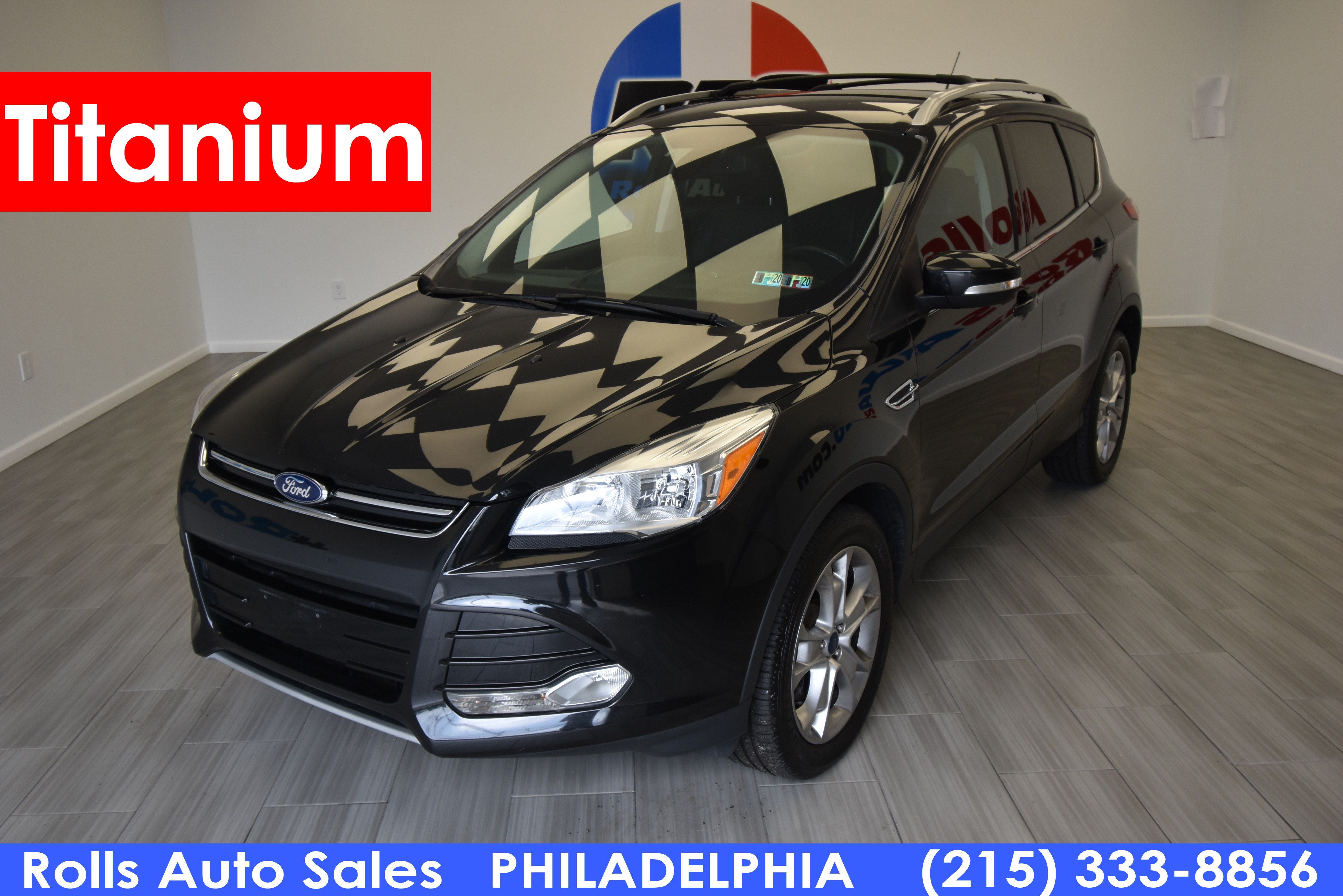 Pre-Owned 2014 Ford Escape-4 Cyl. Utility 4D Titanium EcoBoost 4WD