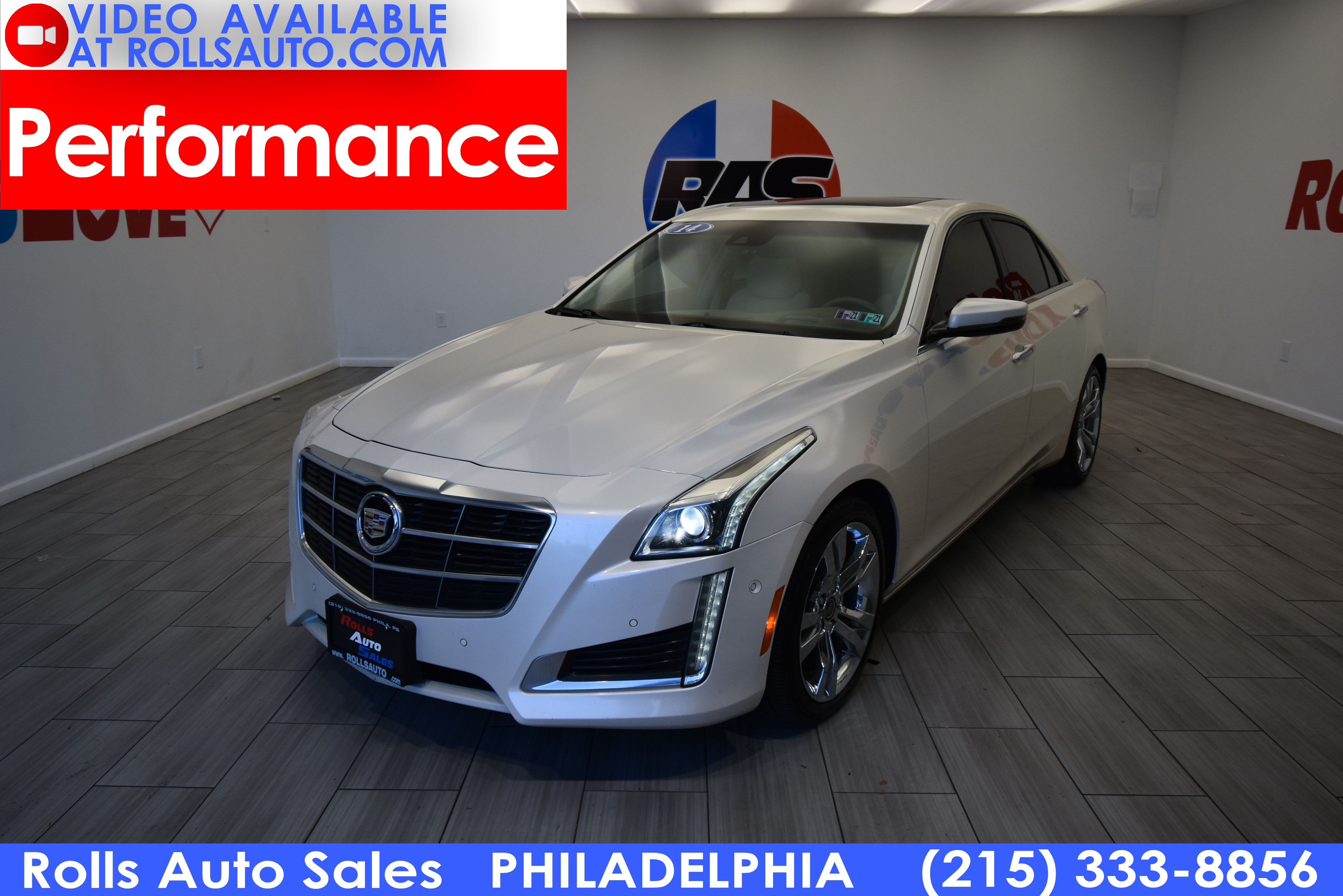 Pre-Owned 2014 Cadillac CTS Performance RWD