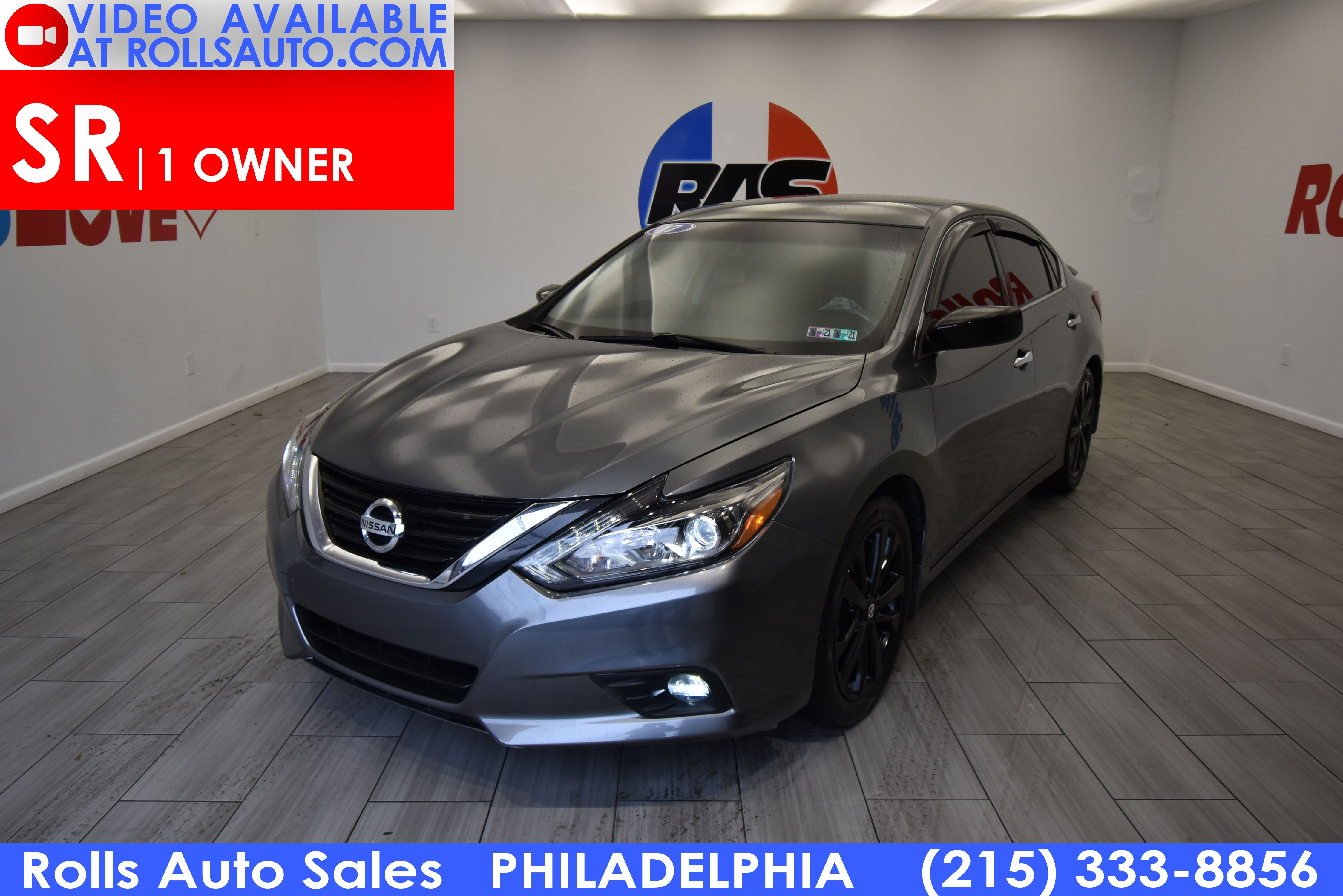 Pre-Owned 2017 Nissan Altima SR