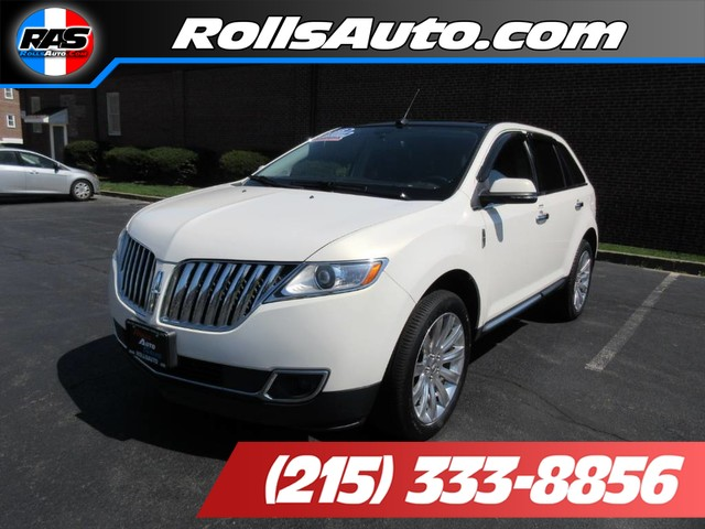 Pre-Owned 2013 Lincoln MKX-V6 Wagon 4D Elite AWD