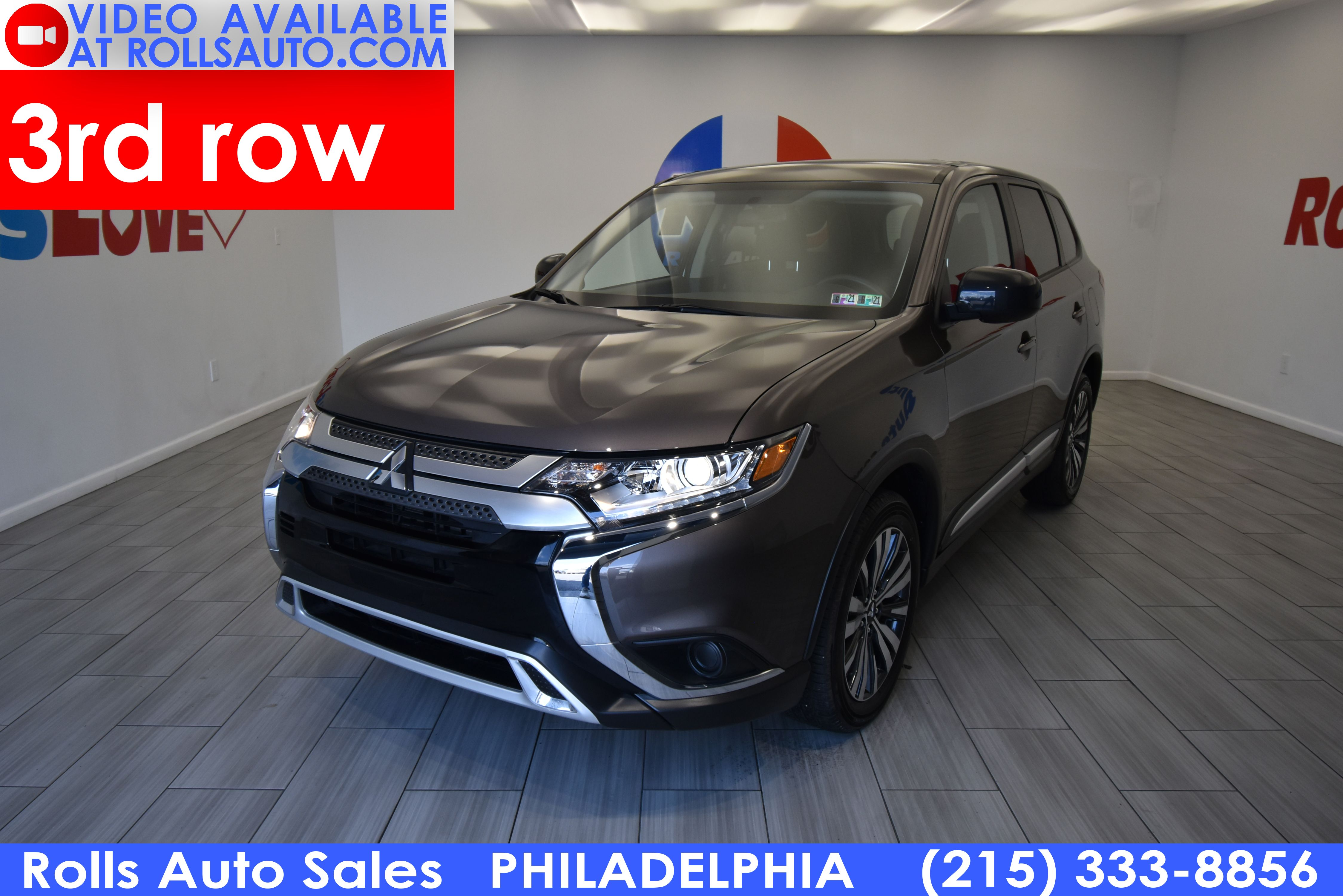Pre-Owned 2020 Mitsubishi Outlander ES FWD
