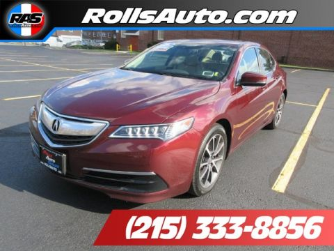 Pre-Owned 2016 Acura TLX Sedan 4D Technology AWD
