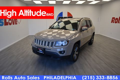 Pre-Owned 2016 Jeep Compass-4 Cyl. High Altitude Edition