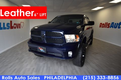 Pre-Owned 2014 Dodge Ram 1500 Pickup-V8 Crew Cab Express 4WD