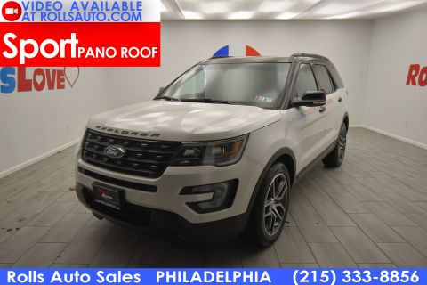 2017 Ford Explorer Sport With Navigation