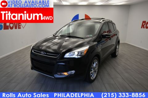 2014 Ford Escape Titanium Four Wheel Drive Sport Utility