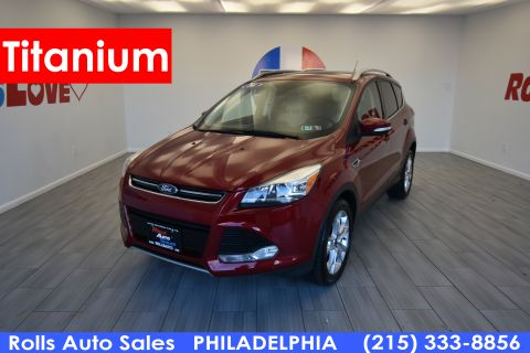 Pre-Owned 2016 Ford Escape Titanium Four Wheel Drive SUV