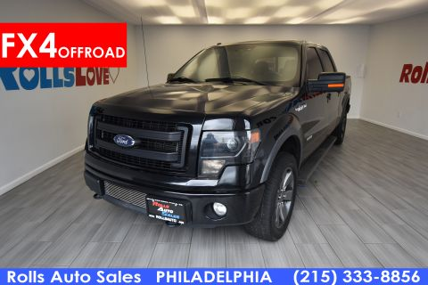 Pre-Owned 2013 Ford F150 Pickup SuperCrew FX4 4WD