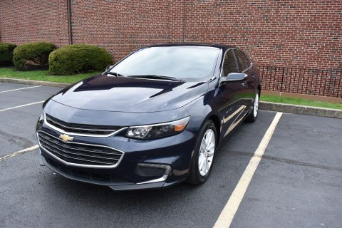 Pre-Owned 2018 Chevrolet Malibu Sedan 4D LT