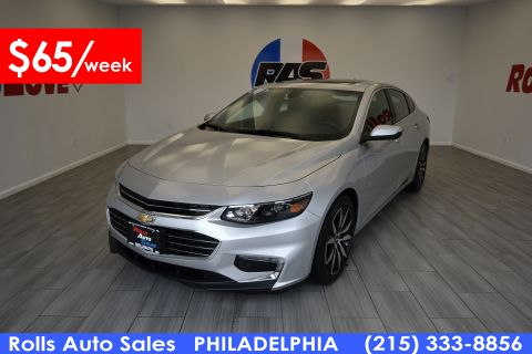 Pre-Owned 2017 Chevrolet Malibu LT Front Wheel Drive Sedan