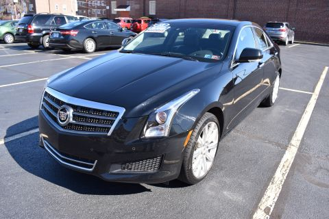 Pre-Owned 2013 Cadillac ATS Sedan 4D Luxury AWD I4 Turbo