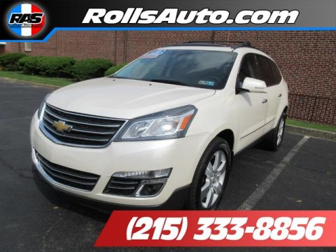 Pre-Owned 2013 Chevrolet Traverse Utility 4D LTZ AWD AWD