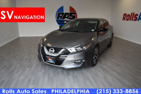 Pre-Owned 2016 Nissan Maxima Sedan 4D SV V6