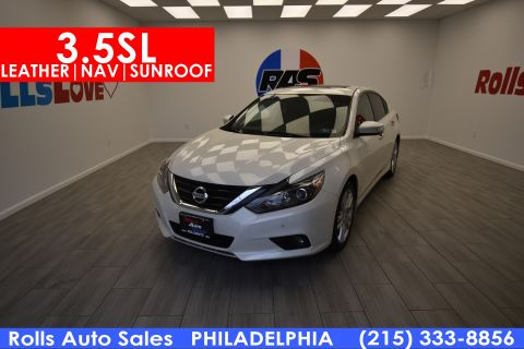 Pre-Owned 2016 Nissan Altima 3.5 SL With Navigation