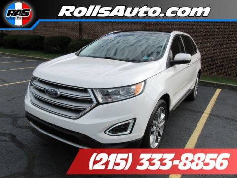 Pre-Owned 2015 Ford Edge Utility 4D Titanium AWD I4 Turbo