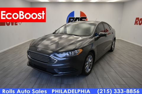 Pre-Owned 2017 Ford Fusion Sedan 4D SE EcoBoost 1.5L I4