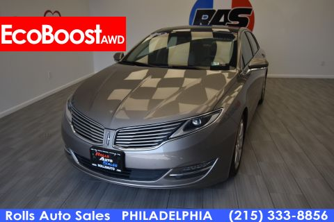 Pre-Owned 2016 Lincoln MKZ Sedan 4D EcoBoost AWD I4 Turbo