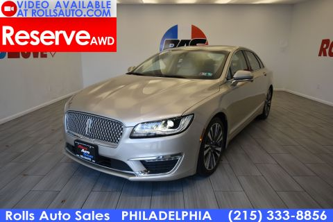 2017 Lincoln MKZ Reserve AWD With Navigation & AWD