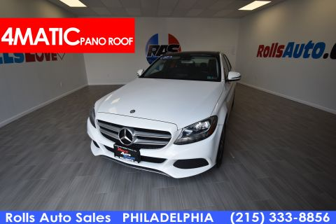Pre-Owned 2017 Mercedes-Benz C Class C 300