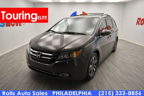 2014 Honda Odyssey Touring Elite With Navigation