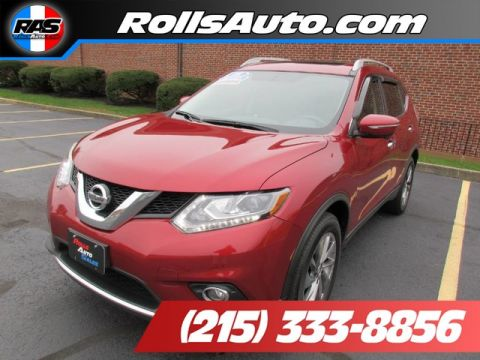 Pre-Owned 2015 Nissan Rogue Utility 4D SL AWD I4