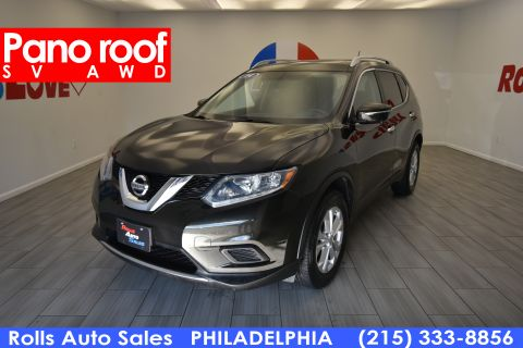 2014 Nissan Rogue SV With Navigation & AWD