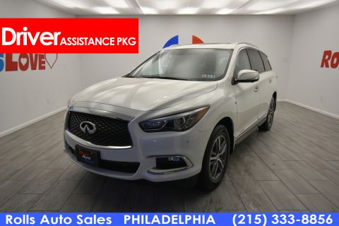 Pre-Owned 2017 INFINITI QX60 Utility 4D AWD V6