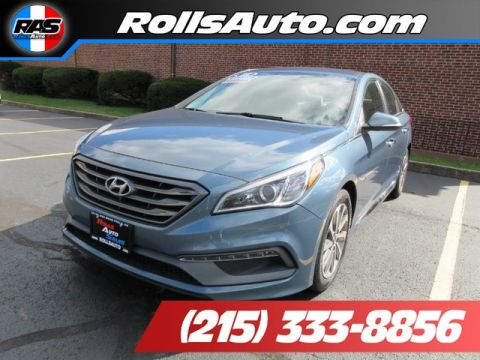 Pre-Owned 2015 Hyundai Sonata Sedan 4D Sport I4