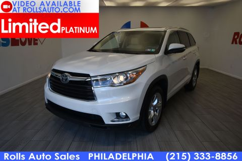 2016 Toyota Highlander Limited Platinum AWD