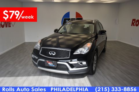 Pre-Owned 2017 INFINITI QX50 Utility 4D AWD V6
