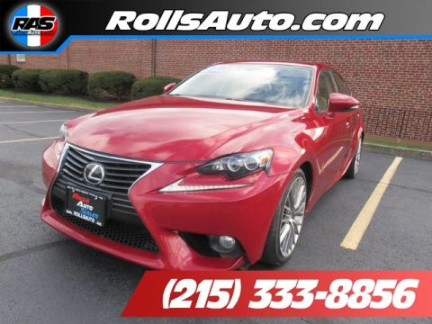 Pre-Owned 2014 Lexus IS Sedan 4D IS250 AWD V6