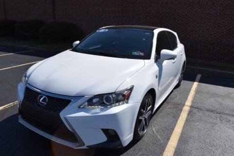 Pre-Owned 2015 Lexus CT F Sport Hatchback 5D CT200h I4 Hybrid