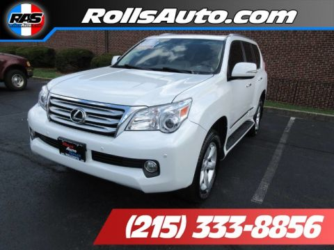 Pre-Owned 2012 Lexus GX460-V8 Utility 4D 4WD Four Wheel Drive SW