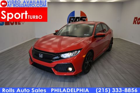 2018 Honda Civic Sport Front Wheel Drive Hatchback 4 Dr.