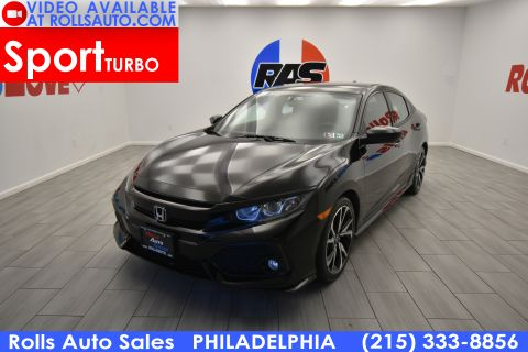 Pre-Owned 2018 Honda Civic Hatchback 5D Sport I4 Turbo