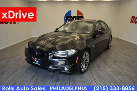 2016 BMW 5 Series Sedan 4D 528xi AWD With Navigation & AWD