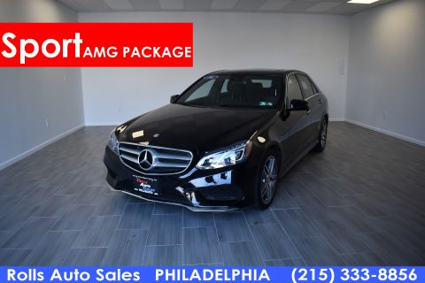 Pre-Owned 2016 Mercedes-Benz E Class E 350 Sport SDN
