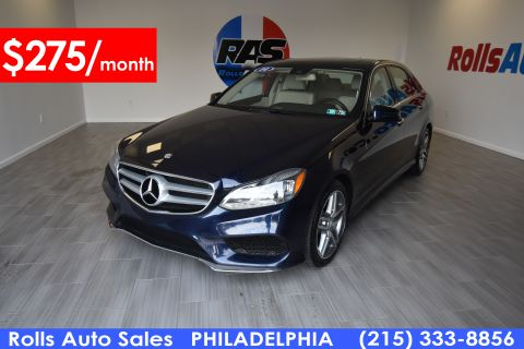 Pre-Owned 2014 Mercedes-Benz E Class E 350 Sport