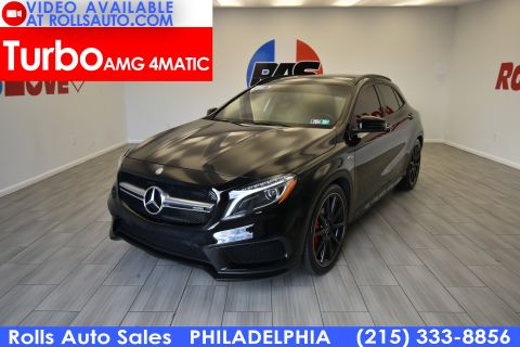 Pre-Owned 2015 Mercedes-Benz GLA Class GLA 45 AMG® AWD 4MATIC®
